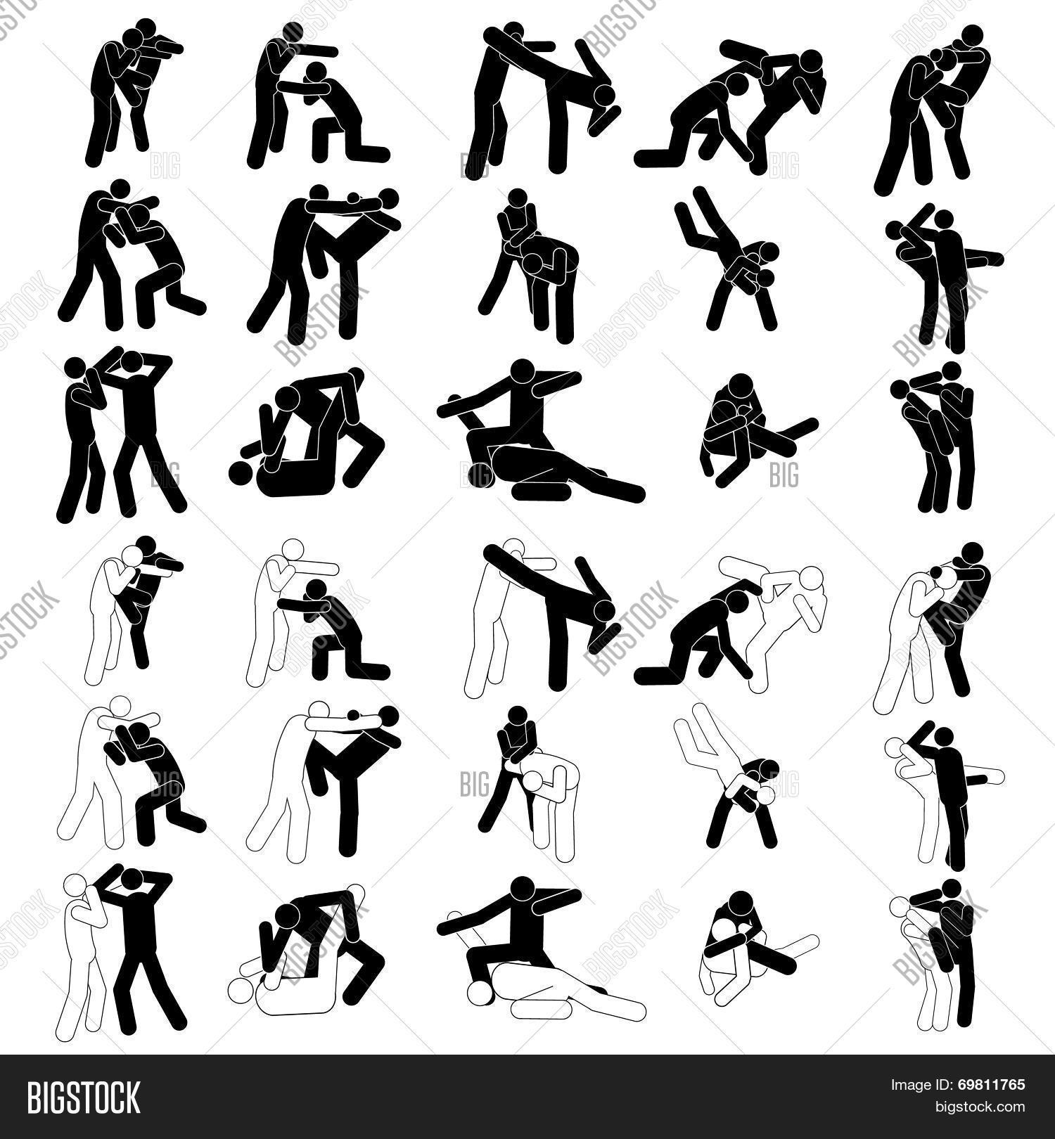 Fight Fighter Muay Vector Photo Free Trial Bigstock