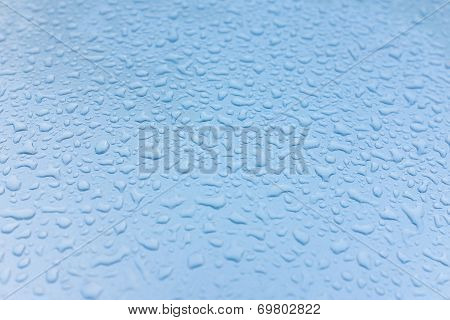 Drops Of Water Abstract Background