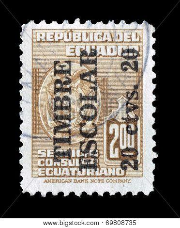 Ecuador stamp 1952