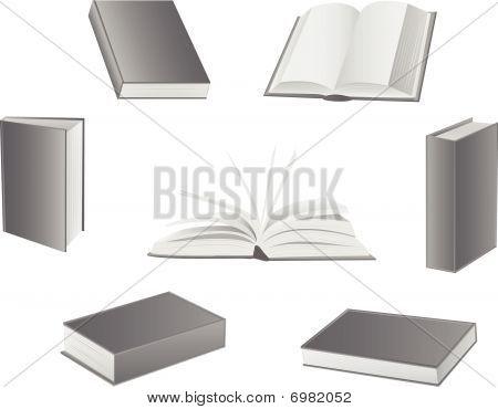 Books illustrations