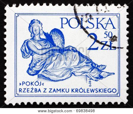 Postage Stamp Poland 1979 Peace, By Andre Le Brun
