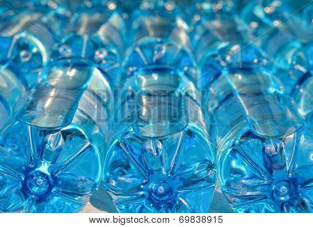 Bottles With Carbonated Water