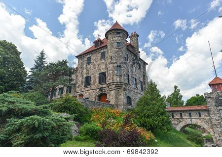 Singer Castle, Dark Island, New York