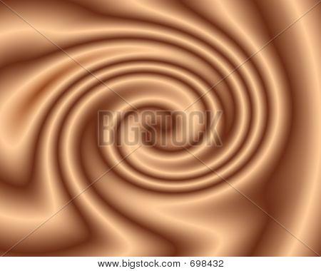 Chocolate Twirl