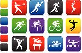 Original vector illustration: sports icon collection file poster