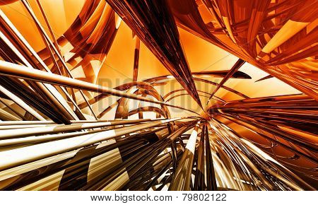 3d abstract background