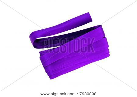 Purple Bias Binding