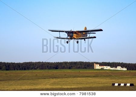 Sporting Airplane Take-off