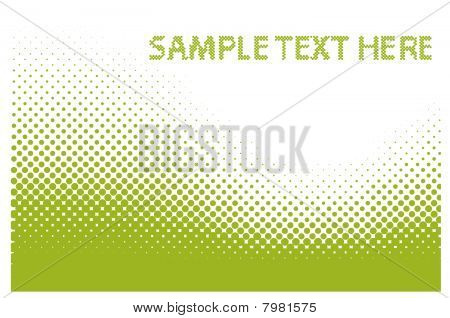 Abstract dots vector background.