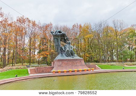 Frederic Chopin Monument (1926) In Warsaw, Poland
