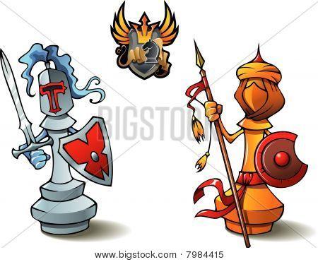 Chess set: Bishops