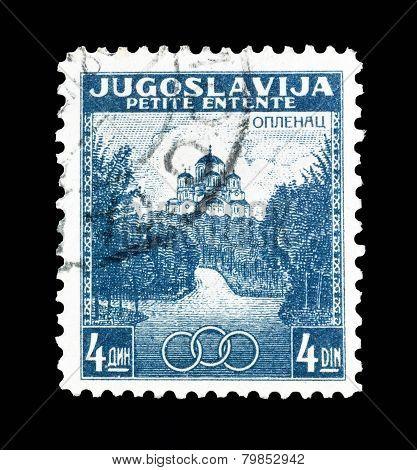 Petite Entente stamp