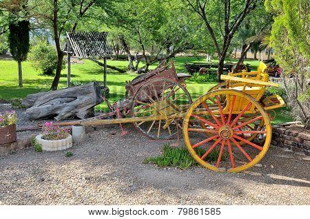 Two-wheeled Horse Drawn Carts