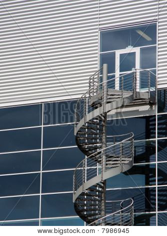 Vertical Stairway To Nowhere