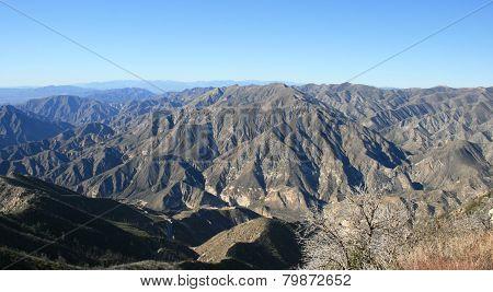 Big Tujunga Canyon Panorama