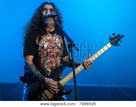 Slayer, Tom Araya on Sonisphere festival