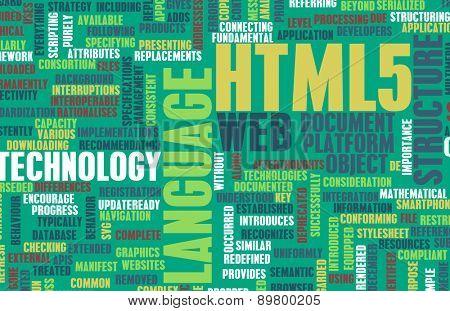 HTML 5 Web Development Language as Concept