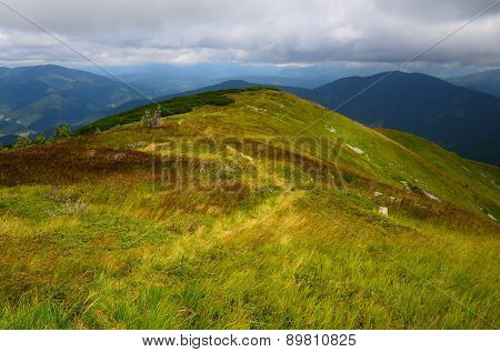 Mountains Winding Trail