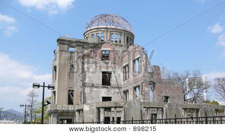 atomare Kuppel in hiroshima