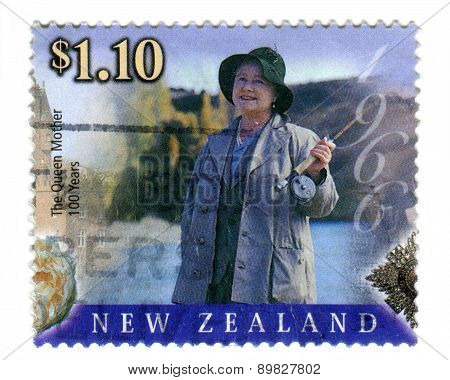 Commemorative Queen Mother Stamp