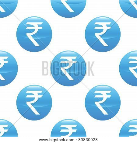 Indian rupee sign pattern