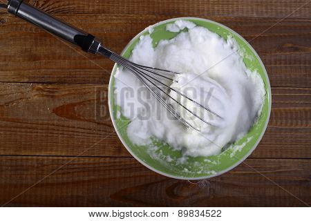 Frothed Eggs