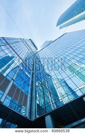 Modern Skyscrapers Business Center
