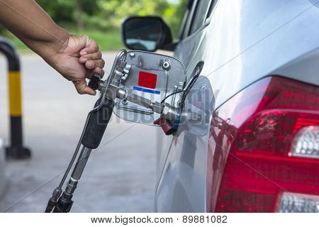 Alternative refuel fuel CNGLPG NGV in your vehicle poster
