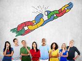 Chain Broken Stress Pressure Freedom Concept poster