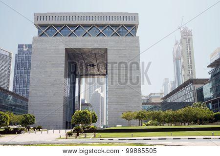 The Gate - Main building of Dubai International Financial Centre
