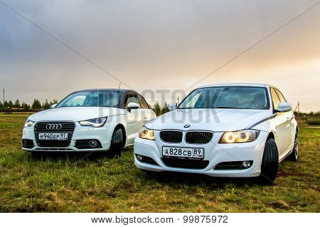 Audi A1 And Bmw E90 318I
