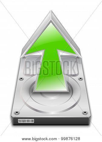 Upload Icon. Vector
