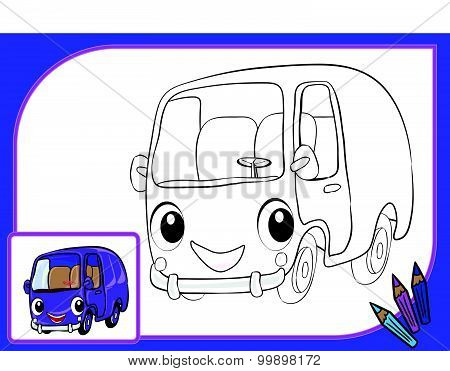 Coloring Book Autobus