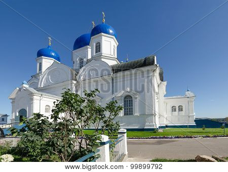 Cathedral Of Bogoliubsk Icon Of Mother Of God In Holy Bogolyubsky Monastery, Russia
