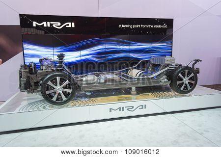 Toyota Mirai Cutway
