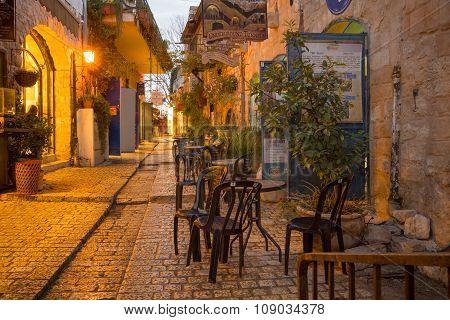 Alley Scene, Safed (tzfat)