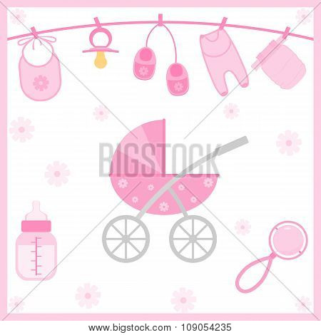Baby Shower objects
