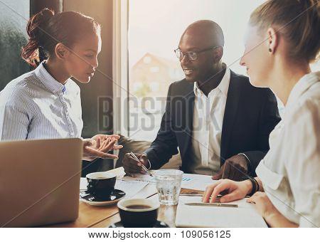Multi Ethnic Business People