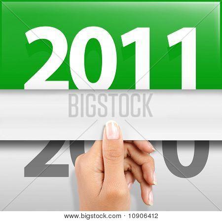 neues Jahr 2011 symbol