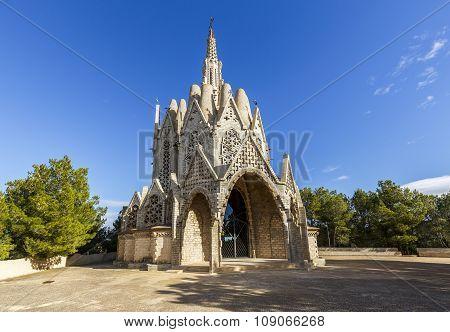 Sanctuary Of Montserrat In Montferri, Tarragona, Catalonia.