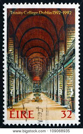 Postage Stamp Ireland 1992 Library, Trinity College, Dublin