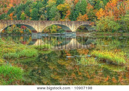 Bridge reflections in Cumberland ky