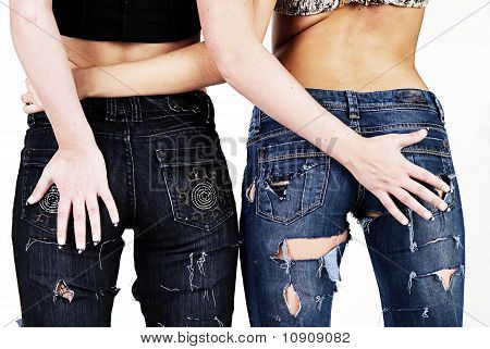 Two Jeans Girls