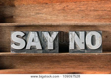 Say No Tray