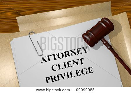 Attorney-client Privilege Concept