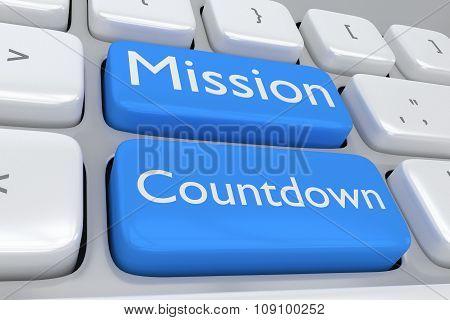 Mission Countdown Concept