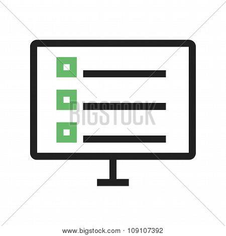 Online schedule
