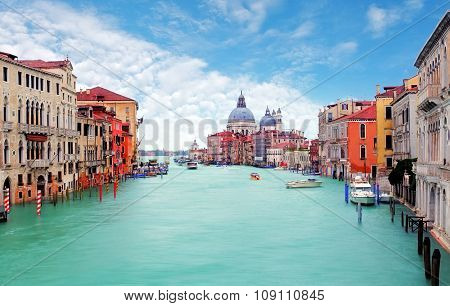 Venice From Ponte Accademia