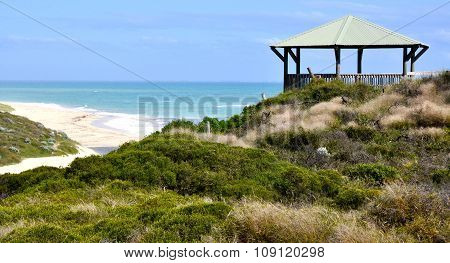 Gazebo on a Coastal Dune: Indian Ocean,Western Australia