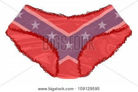 Rebel Flag Knickers